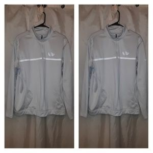 Nike Khaki Therma Half Zip Golf Shirt Size L